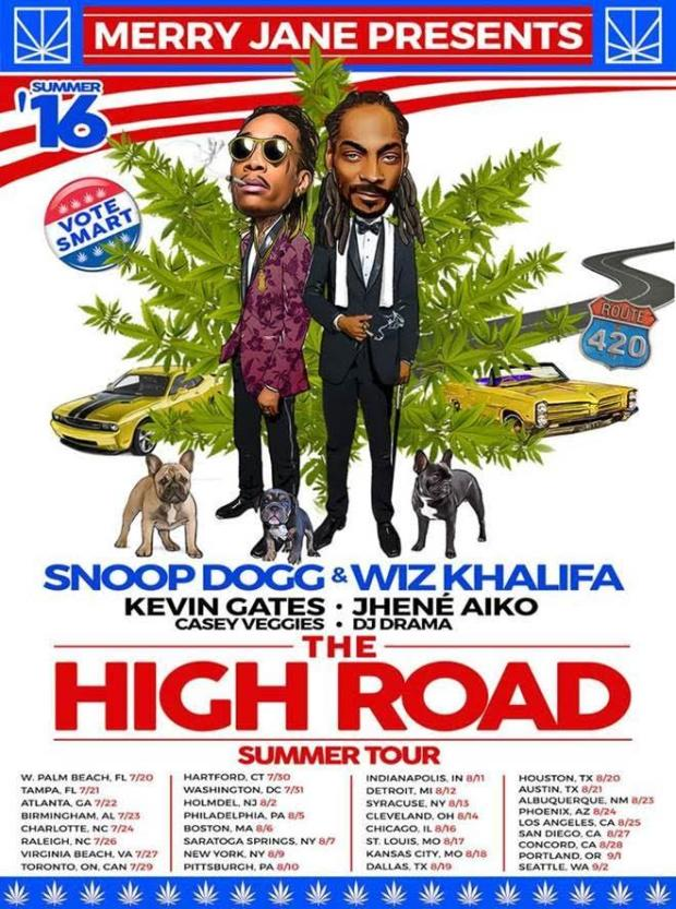 Snoop Dogg x Wiz Khalifa