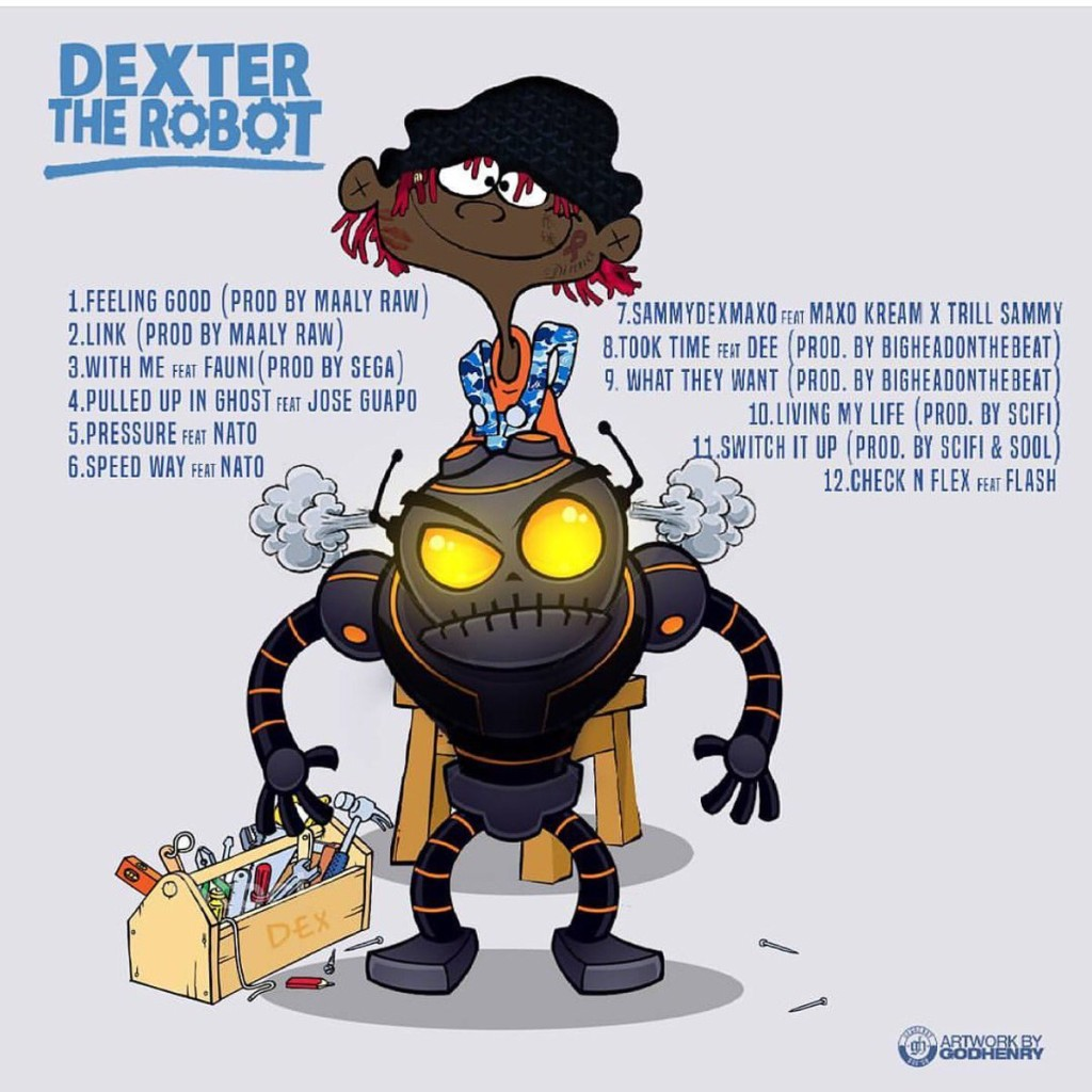 dexter_the_robot_tracklisting